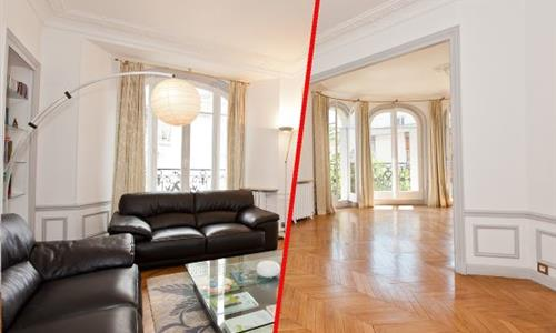 How much extra are tenants paying for a furnished flat?