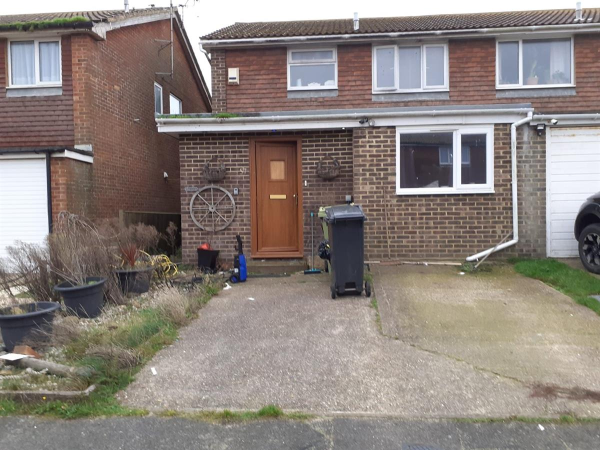 For Sale - 3 bedroom Semi-detached house, Denham Way, Camber, Rye - £150,000 Guide Price