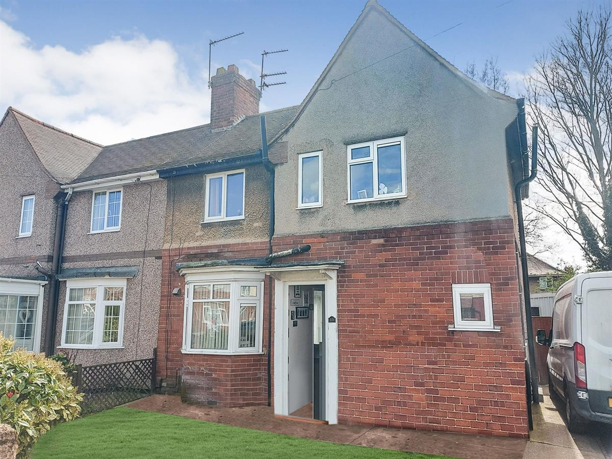 For Sale - 3 bedroom Terraced house, Crecy Avenue, Intake, Doncaster - £125,000