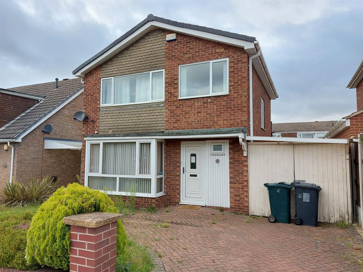 For Sale - 3 bedroom Detached house, Hakehill Close, Doncaster - £250,000 Guide Price